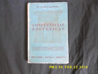 Conferencias Esotéricas