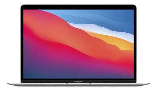 Imagen 1 de 6 de Apple Macbook Air (13 pulgadas, 2020, Chip M1, 256 GB de SSD, 8 GB de RAM) - Plata