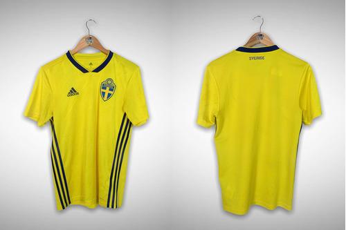 Suécia 2018 Primeira Camisa Tam P.