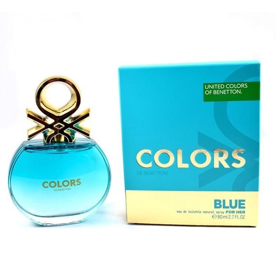 Colors Blue 80 Ml Eau De Toilette Spray De Benetton