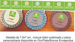 Medallas Deportiva Personalizada Listón Sublimado