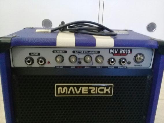 Amplificador Maverick Mv2010b Bass Amp 20w Para Baixo.