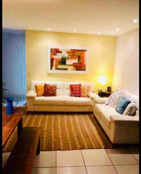 Apartamento Com 2 Dormitórios À Venda, 81 M² Por R$ 540.000,00 - São Francisco - Niterói/rj - Ap3039