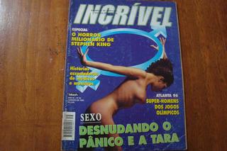 Revista Incrivel 39 / Desnudando O ,panico E A Tara King