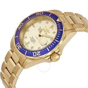 Relógio Invicta 14124 Pro Diver Ouro 18k