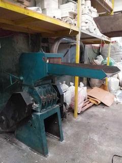 Molino Triturador De Plástico Sisca 15hp Con Extractor