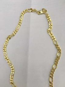 Cordão Ouro Mais Pulseira Com Garantia Excelente Qualidade