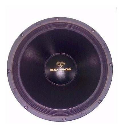 Bajos De 12 400watts Black Diamond Mod. Bd124b