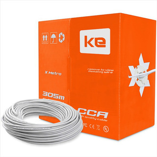 Cable De Red Utp 100% Cobre Cat. 5e Interior Miokee, 305 Mts