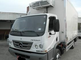 Mercedes-benz Accelo 1016 Bau Refrigerado Ano 2016