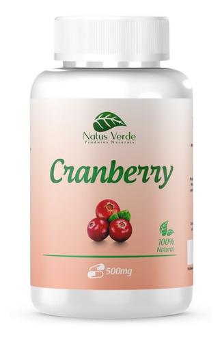 Imagem 1 de 3 de Cranberry 100 Caps 500mg - Infecção Urinária - Antioxidante