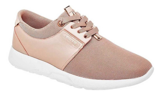 Tenis What´s U? Mujer 173702 Color Oro Talla 22-26 -shoes