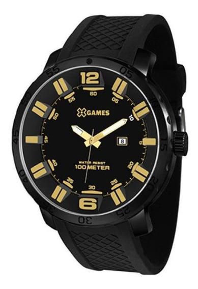Relógio Xgames Masculino Xteel Preto Xmnp1001p2px