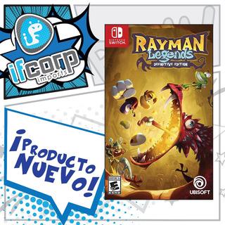 Nintendo Switch Rayman Legends Definitive Edition