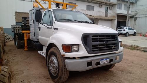 Caminhão Munck  F14000 160 2001 Carroc. Nova *ótimo*repasse
