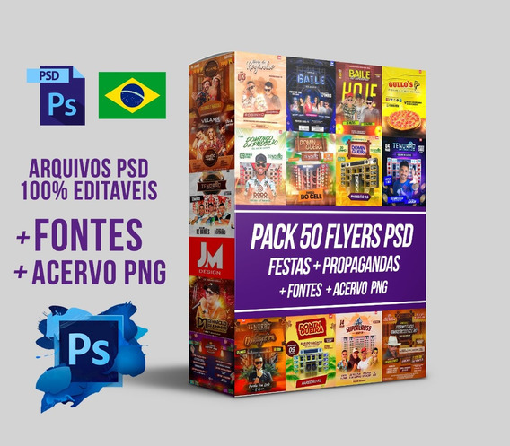 Flyers/banners Pack Para Eventos - Psd