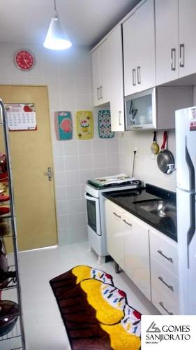 Apartamento Para A Venda No Bairro Jardim Santo André Em Santo André - Sp . - Ap01113 - 69198001