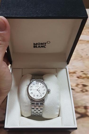 Relogio Mont Blanc Star - Original Com Manual E Nº De Serie.