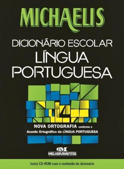 Michaelis Dicionário Escolar Português - Com Cd-rom - Melh