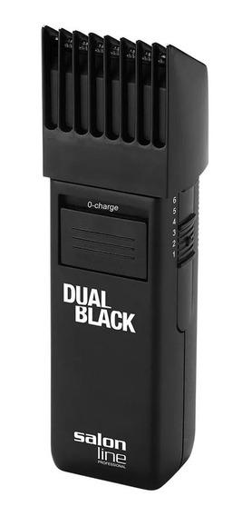 Máquina De Acabamento Dual Black Salon Line Cabelo Barba