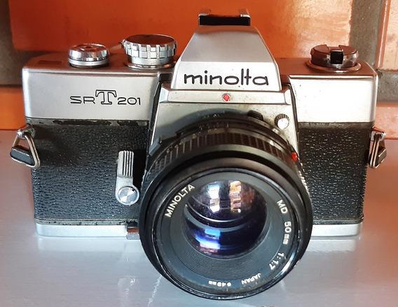 Câmera Minolta Srt 201