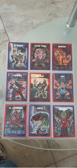 Tarjetas Monstruos Del Bolsillo