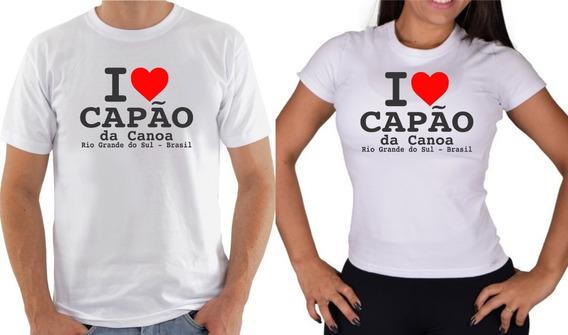 Camiseta I Love Capão Da Canoa