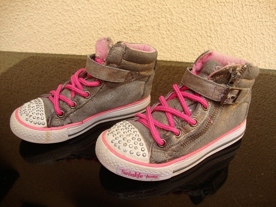 Tênis Skechers Infantil Menina N 27 Usada