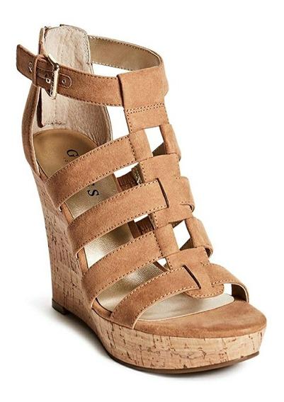 Sandalia Zapato De Salir Guess Color Natural Nude