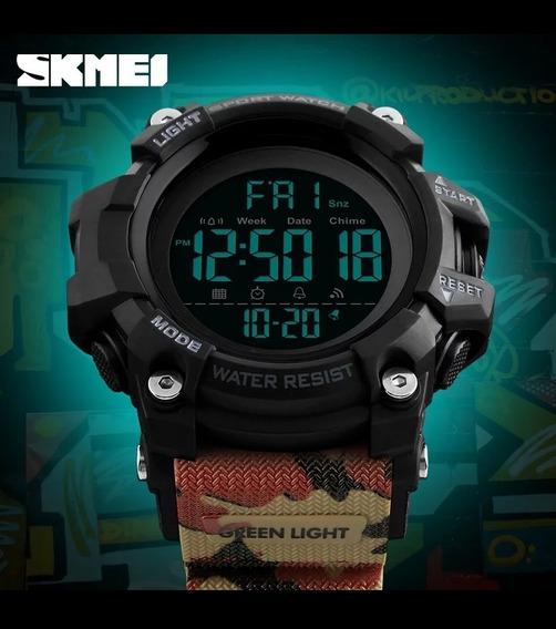 Relógio Skimei Camuflado