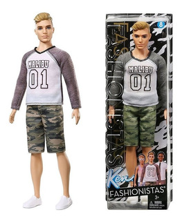 Ken Barbie Curvy Fashionista