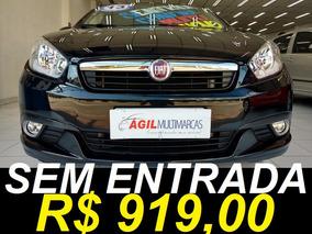Fiat Grand Siena 1.4 Attractive Único Dono 2013 Preto