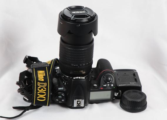 Nikon D300 17 Cliks Com Lente 18-135 Novinha Só O Corpo