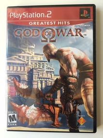 Jogo God Of War 1 Ps2 Colecionador
