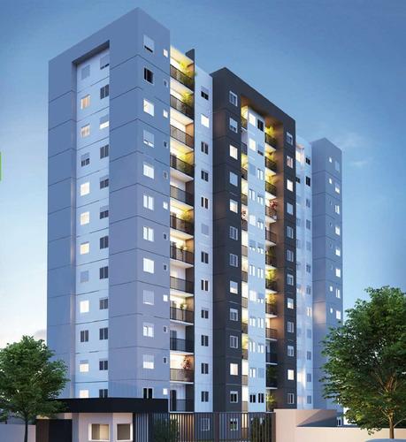 Super Lançamento Na Vila Tiberio, Ed. Ideal, Na Monte Alegre Com A Zerrener, 2 Dormitorios, 42 M2, Area De Lazer Completa. Minha Casa Minha Vida - Ap02172 - 68348304