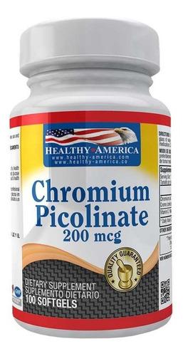 Picolinato De Cromo 200mcg 100 Soft - Unidad a $279