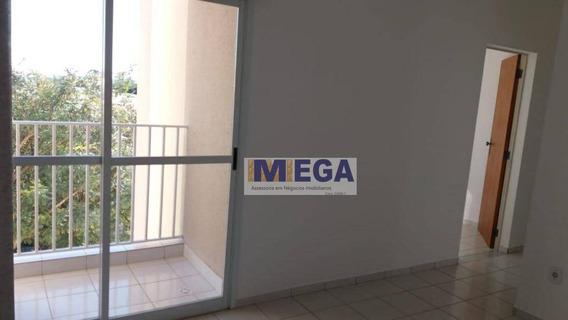Apartamento Com 2 Dormitórios, 67 M² - Venda Por R$ 180.000,00 Ou Aluguel Por R$ 800,00/mês - Jardim Andorinhas - Campinas/sp - Ap4184