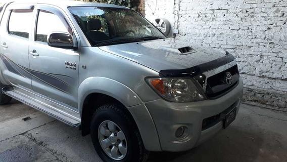 Toyota Hilux 2009 Srv 4x2 Dc 3.0. Excelente Estado