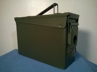 Caja Militar Usada Medida 27 X 17 X 9