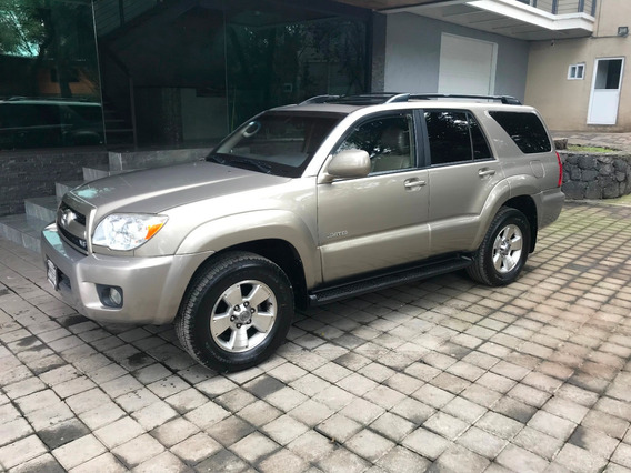 Toyota 4runner Limited Blindada Nivel 3 Plus 2007 (impecable