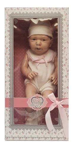 Bebe Detalles Reales 50cm Baby Lovely Orig Cariñito Cuotas