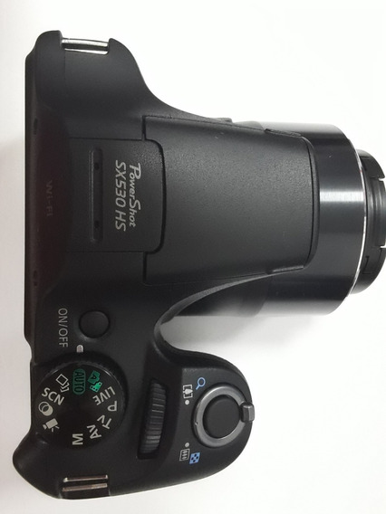 Câmera Canon Powershot Sx530 Hs Wi-fi Zoom 50x Nota Fiscal