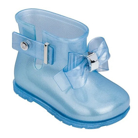 Mini Melissa Sugar Rain Princess Azul Perolado - Original!