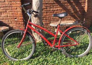 Bicicleta Olmo Rodado 24 De Paseo Liviana Y Comoda