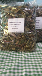 Erva Baleeira (cordia Verbenácea) - 100% Orgânica