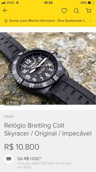 Relógio Breitling Colt Skyracer