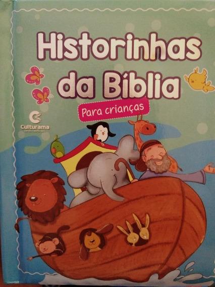 Livro Bebê Crianças Histórinhas Da Biblia Ilustrado História