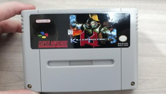 Killer Instinct Snes Cartucho De Super Nintendo