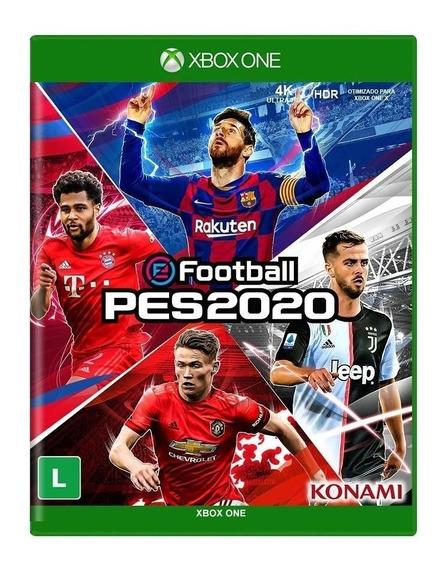 Pro Evolution Soccer 20 Pes 2020 Xbox One - Midia Fisica