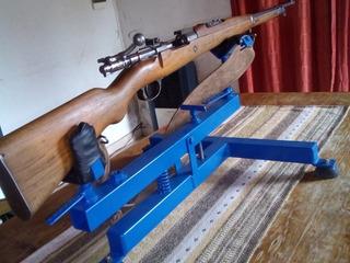 Banco De Tiro Reforzado Para Limpieza Y Calibración De Armas